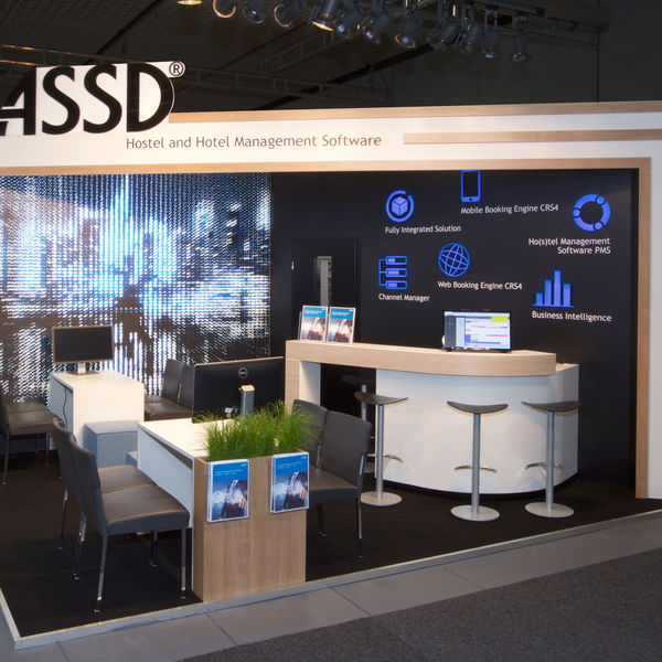 Messestand ASSD GmbH
